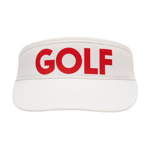 birds-of-condor-white-golf-visor-hat-front