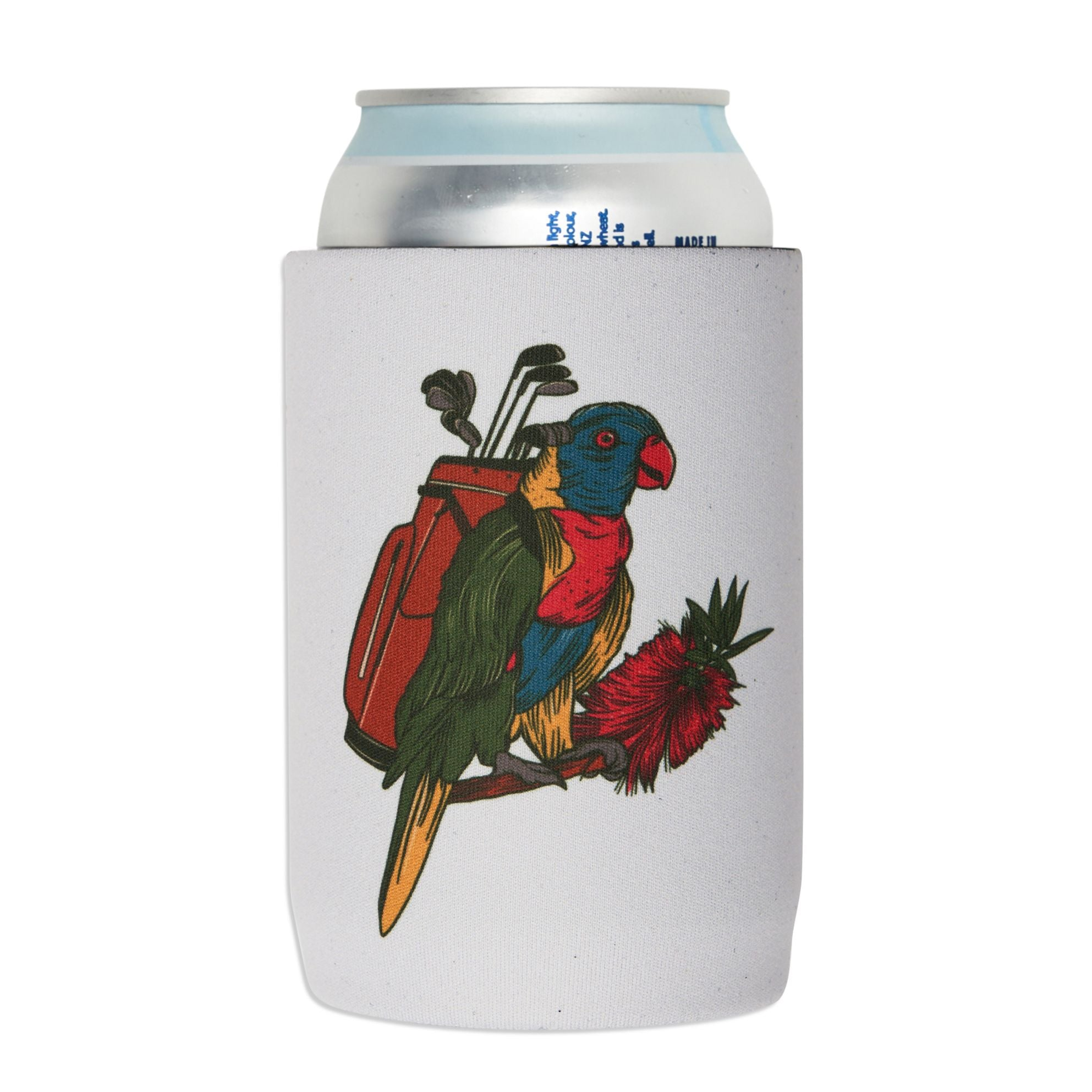 birds-of-condor-lorikeet-golf-clubs-beer-stubby-cooler-koozie