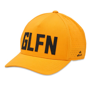 birds-of-condor-yellow-golf-glfn-golfing-snapback-a-frame-hat-front