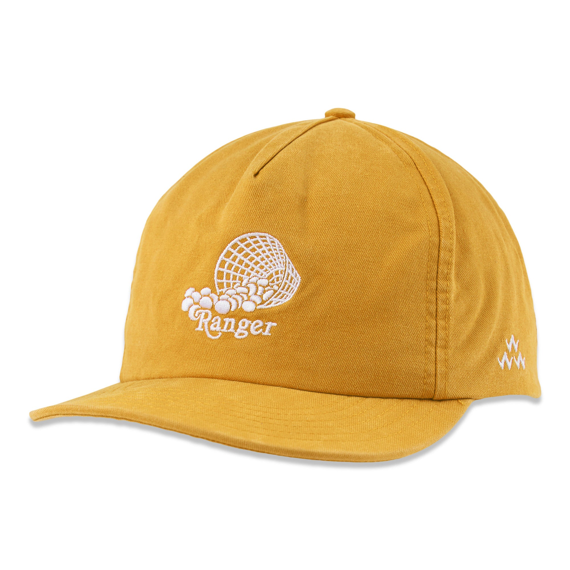 birds-of-condor-yellow-golf-range-ranger-soft-peak-hat-cap-front