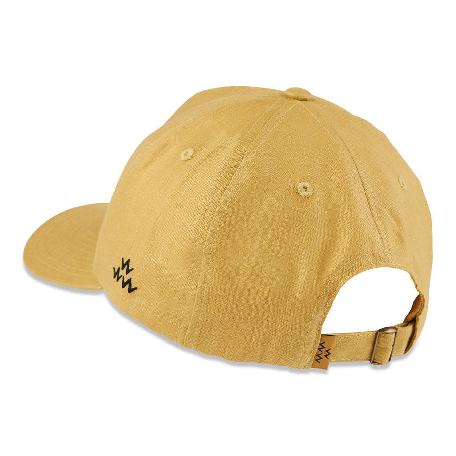 birds-of-condor-yellow-hemp-golf-bent-grass-hat-cap-front