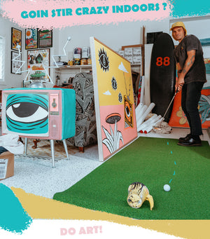 Golf Collective Coloring Book