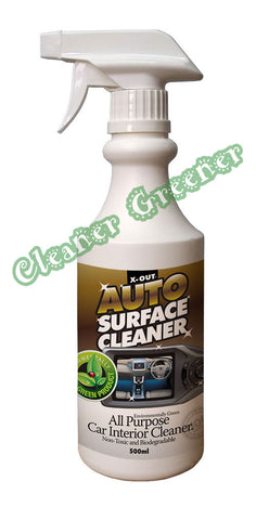 X-OUT AUTO SURFACE CLEANER