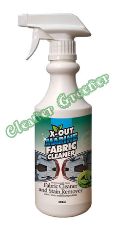 X-OUT MARINE FABRIC CLEANER