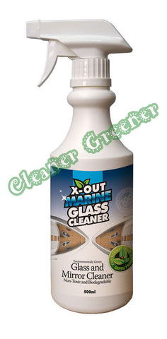 X-OUT MARINE GLASS CLEANER