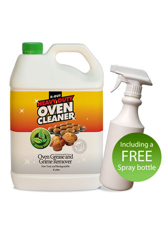 X-OUT HEAVY DUTY OVEN CLEANER <br>5 litre Bulk Pack