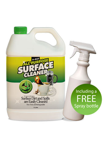 X-OUT ALL PURPOSE SURFACE CLEANER <br>5 litre Bulk Pack
