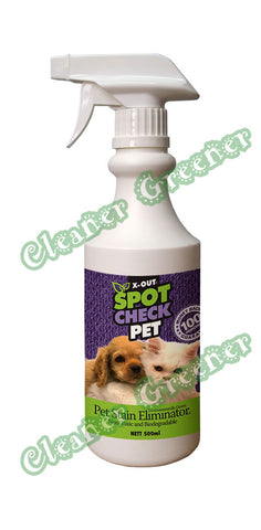 X-OUT ENVIRONMENTALLY GREEN SPOT CHECK PET 500ml