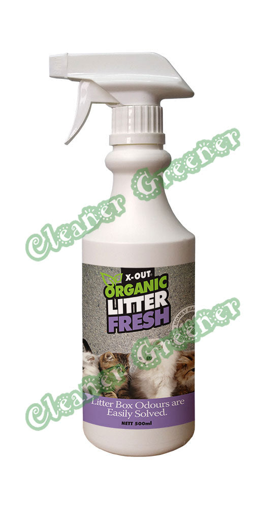 X-OUT ORGANIC LITTER FRESH<br>500ml