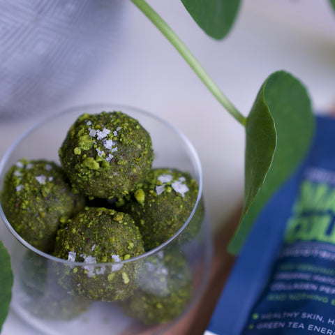 Matcha Beauty Balls