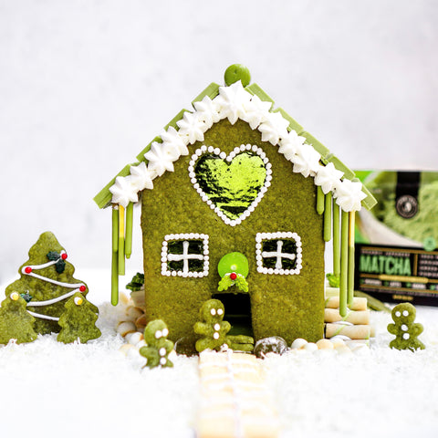 The Jade Leaf Matcha Gingerbread House