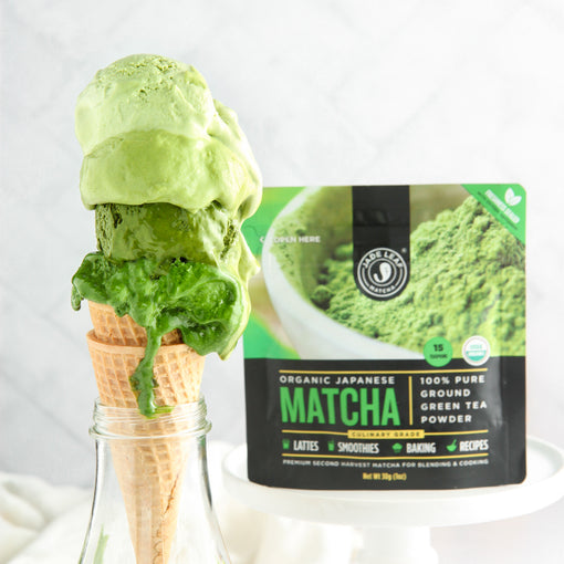 No-churn Matcha Ice Cream: 4 Intensities