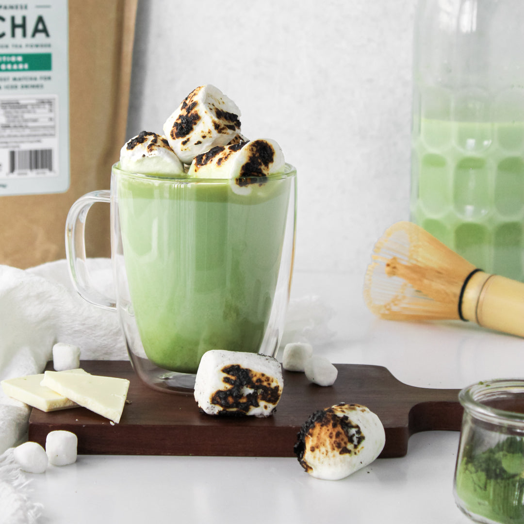 Hot Matcha White Chocolate