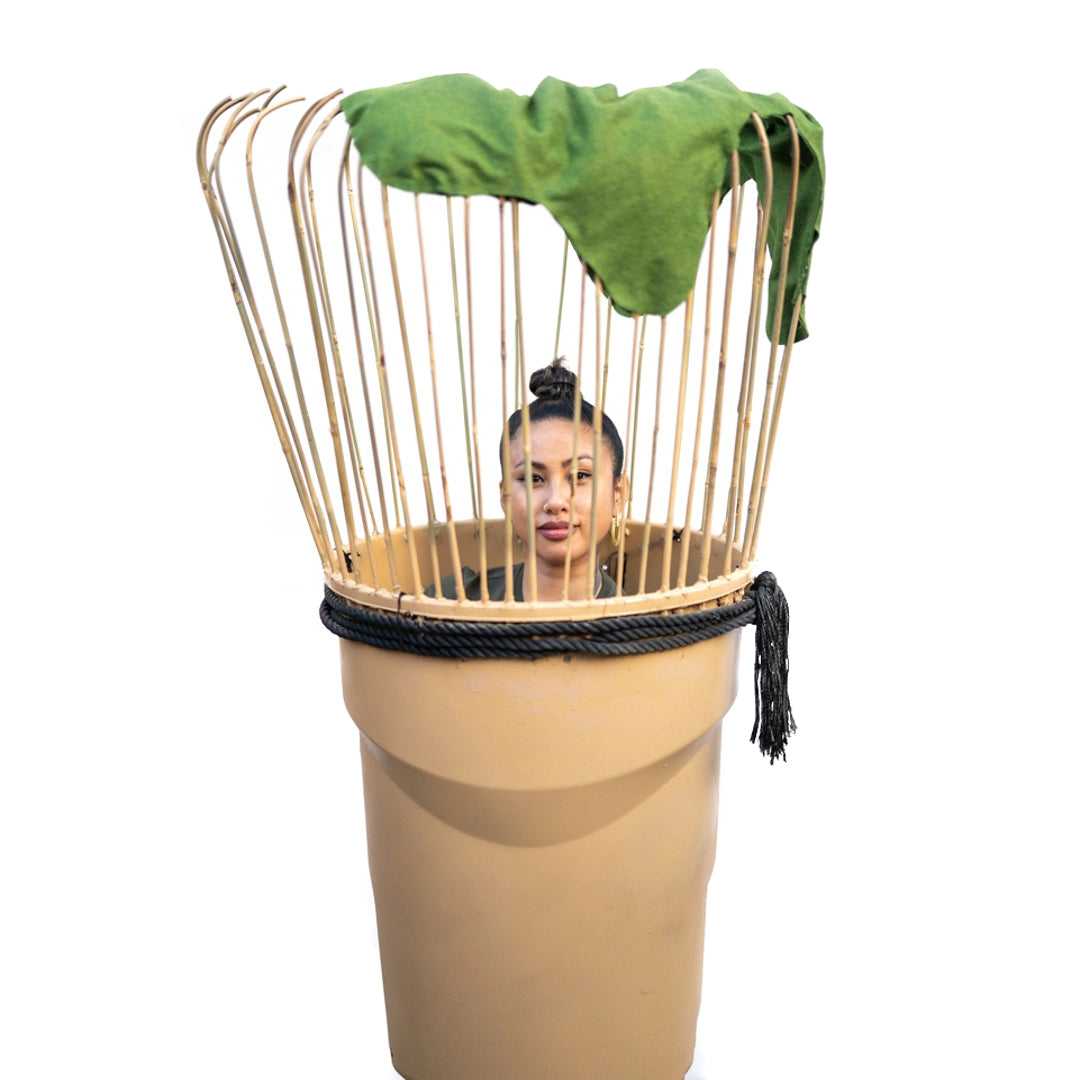 The World's First DIY Chasen (Bamboo Whisk) Halloween Costume