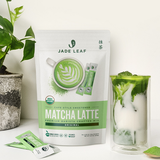 New Product Alert: Matcha Latte Mix now comes in convenient packets!