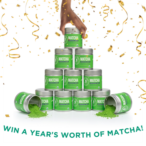 GIVEAWAY: Win A Year's Worth of Matcha!!