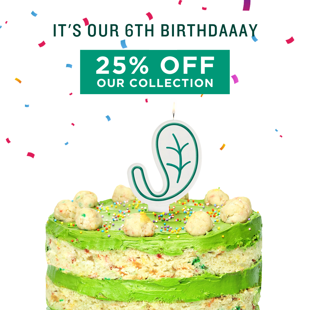 It's our birthdaaaay! We turned 6 years old today!