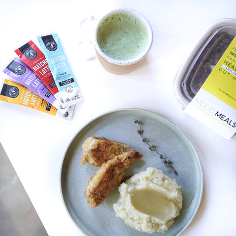 Model Meals + Jade Leaf Matcha = A Matcha Made in Heaven