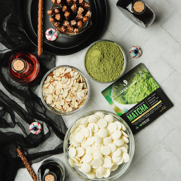 Matcha Witch Finger Recipe Ingredients