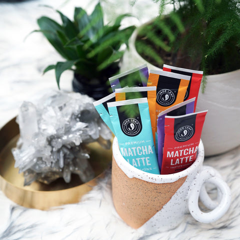 Matcha Latte Infusions - PROTECT - 10 PACKETS - 30 PACKETS - Sticks