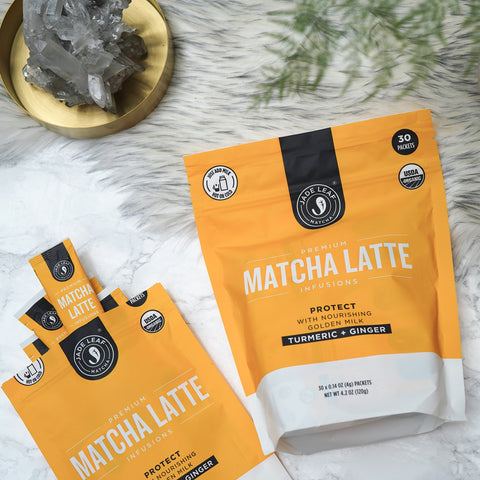 Matcha Latte Infusions - PROTECT - 10 PACKETS - 30 PACKETS - ALT