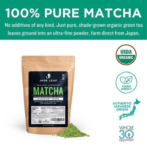 Ingredient Matcha - 250g Pouch - Pure