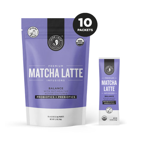 Matcha Latte Infusions - BALANCE - 10 PACKETS
