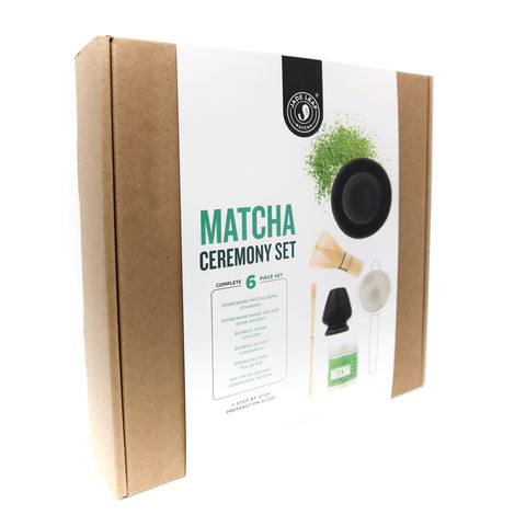 Complete Matcha Gift Set - Classic Ceremonial Grade - Box