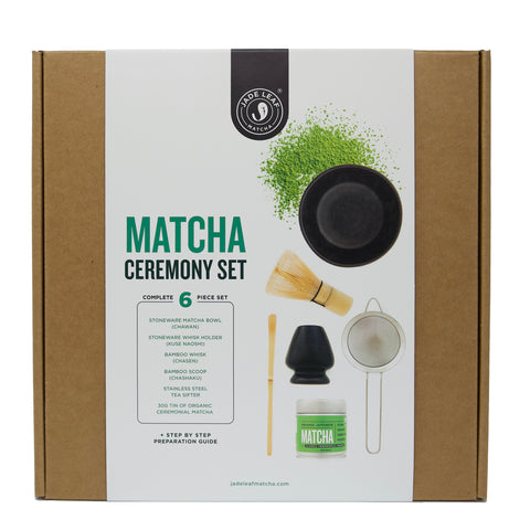 Complete Matcha Gift Set - Classic Ceremonial Grade - Front