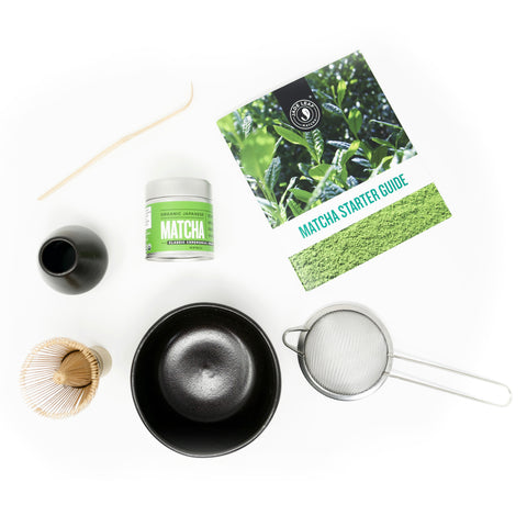 Complete Matcha Gift Set - Classic Ceremonial Grade - Spread
