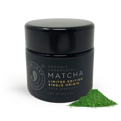 Limited Edition - Single Origin - 2018 First Harvest Ceremonial Matcha - 30g jar - Main