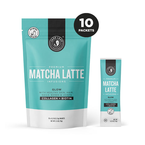 Matcha Latte Infusions - GLOW - 10 PACKETS