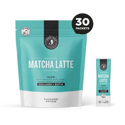 Matcha Latte Infusions - GLOW - 30 PACKETS
