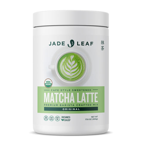 Cafe Style Matcha Latte Mix - Original - 17.6oz (50 servings)