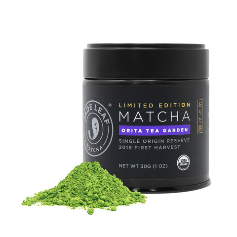 Orita Tea Garden Ceremonial Matcha - 30g Tin - Hero