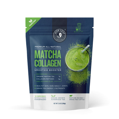 Matcha Collagen Smoothie Booster - 3.8oz (18 servings) - Main