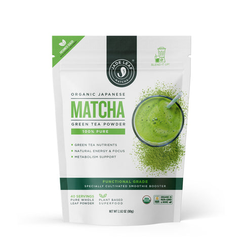 Pure Functional Grade Matcha Smoothie Booster - 2.8oz (40 servings)