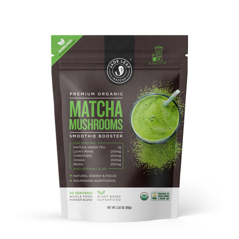 Matcha Mushrooms Smoothie Booster - 2.8oz (40 servings)