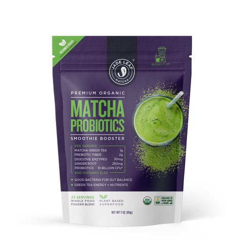 Matcha Probiotics Smoothie Booster - 3.5oz (25 servings)