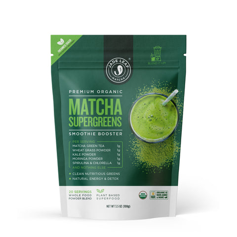 Matcha Supergreens Smoothie Booster - 3.5oz (20 servings)