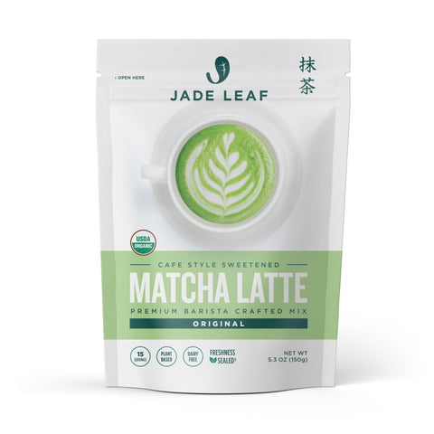 Matcha Latte Mix - 5.3oz Pouch (15 servings) - Hero