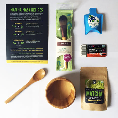 Matcha Green Tea Face Mask DIY Starter Kit
