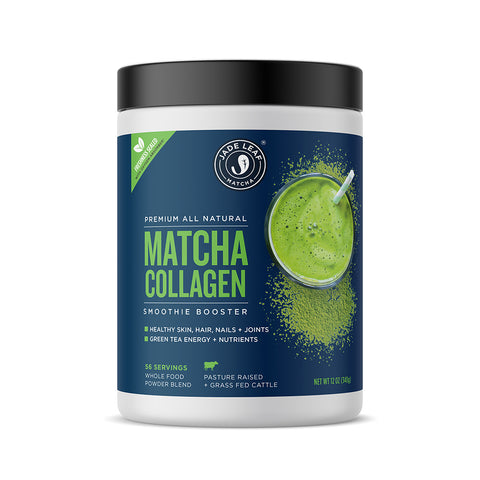 Matcha Collagen Smoothie Booster - 12oz (56 servings)