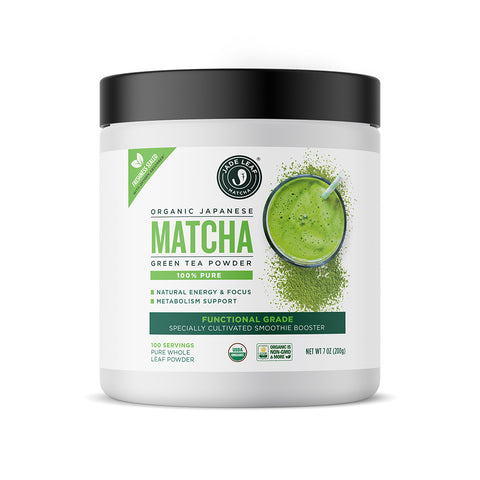 Pure Functional Grade Matcha Smoothie Booster - 7oz (100 servings)