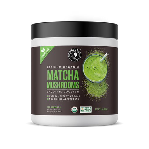 Matcha Mushrooms Smoothie Booster - 7oz (100 servings) - Main