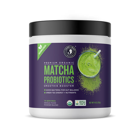 Matcha Probiotics Smoothie Booster - 9oz (75 servings)