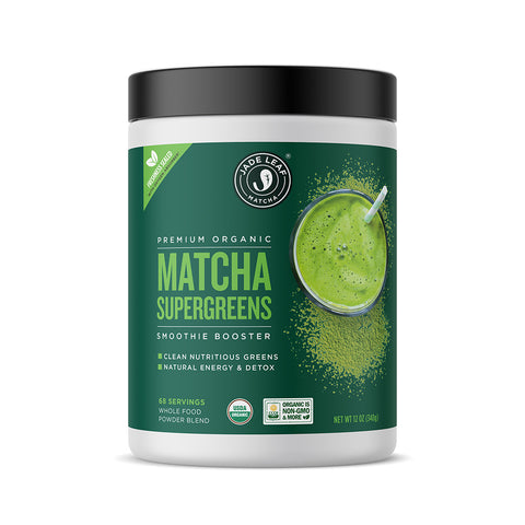 Matcha Supergreens Smoothie Booster - 12oz (68 servings)