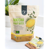 Matcha Fruit Bites - Lemon - 6 Pouches - Front