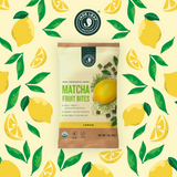 Matcha Fruit Bites - Lemon - 6 Pouches - 30 Pouches - Pattern