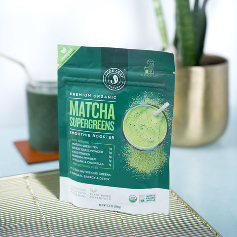 Matcha Supergreens Smoothie Booster - 3.5oz (20 servings) - Lifestyle